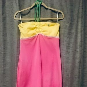 Women's Lacoste Colorblock Minidress - Size 38
